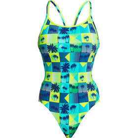 Funkita Diamond Back One Piece Badpak Dames, pop tropo